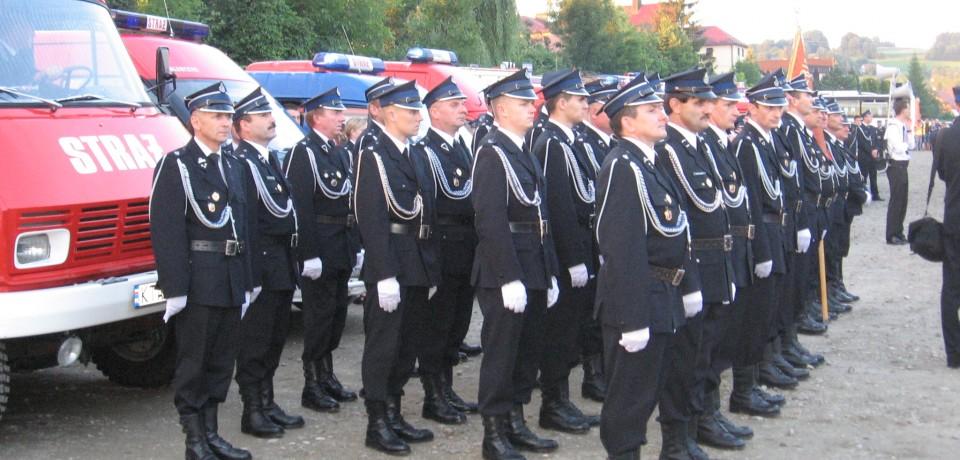 Pielgrzymka strażaków do Bazyliki Mniejszej  w Tuchowie