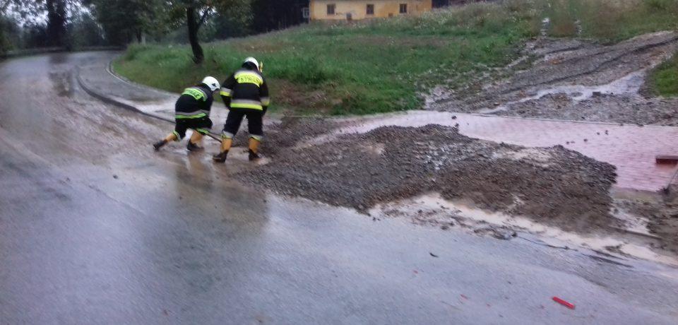 Powódź w Olszynach – sierpień 2019