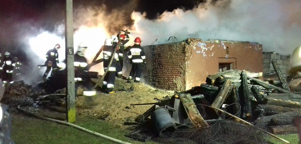 Pożar budynku w Rzepienniku Suchym