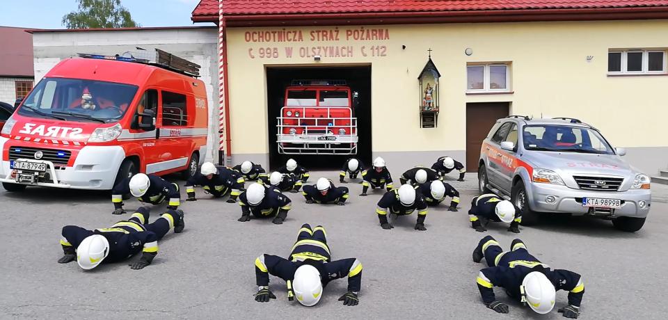 #GASZYNCHALLENGE W OSP OLSZYNY
