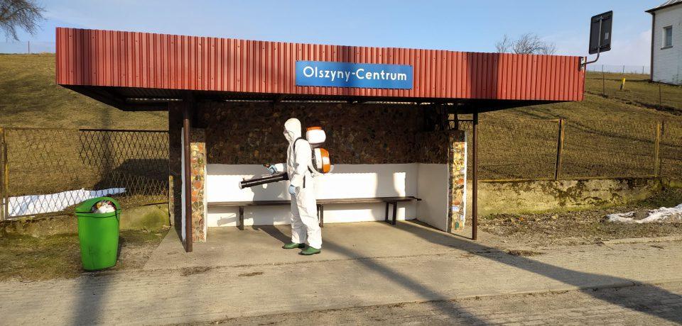 Dekontaminacja przestrzeni publicznej
