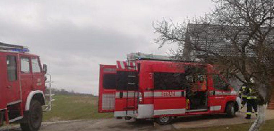 Pożar sadzy w kominie 18.04.2021