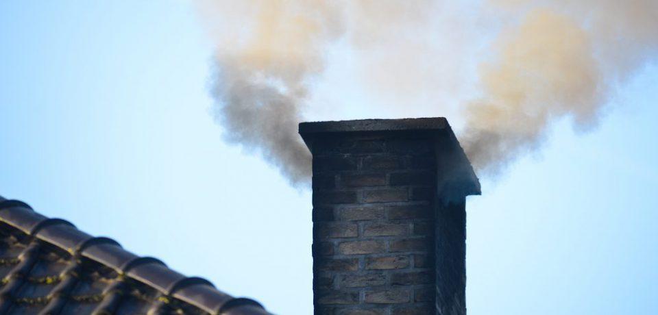 Pożar sadzy w kominie 12.04.2021